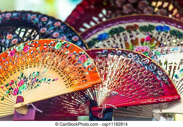 Spanish fans - csp11182814