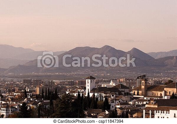 Spanish Landscape - csp11847394