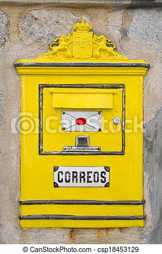 Spanish Mailbox - csp18453129