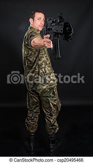 Spanish military   - csp20495466