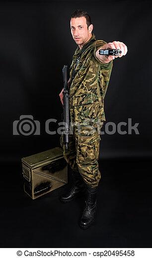 Spanish military  - csp20495458