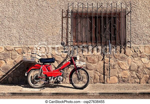 Spanish rural village - csp27638455