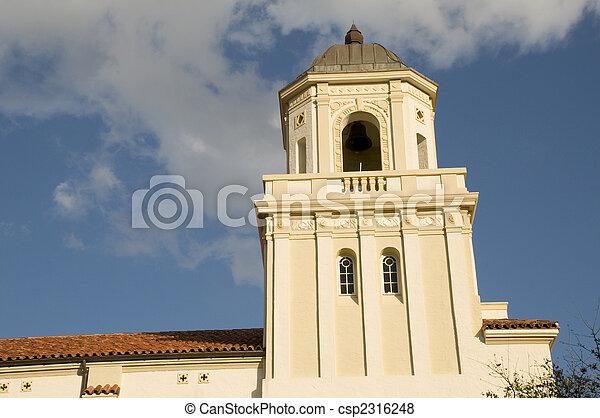 Spanish Style Architecture - csp2316248
