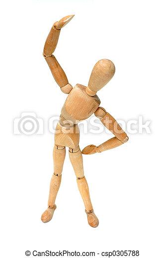 spannen, figurine, - - csp0305788