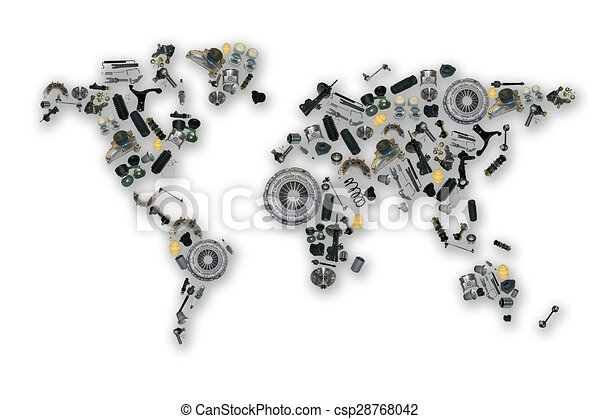 Spare parts map for aftermarket - csp28768042