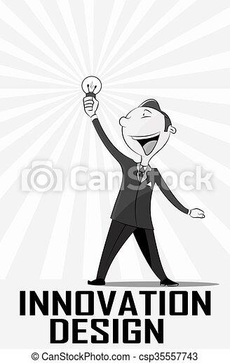 Spark Idea illustration - csp35557743