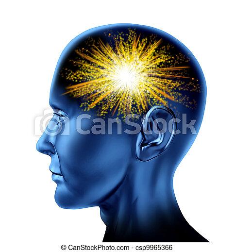 Spark of Genius - csp9965366