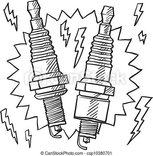 Spark Plug Illustrations Free Download Oasis Dl Co