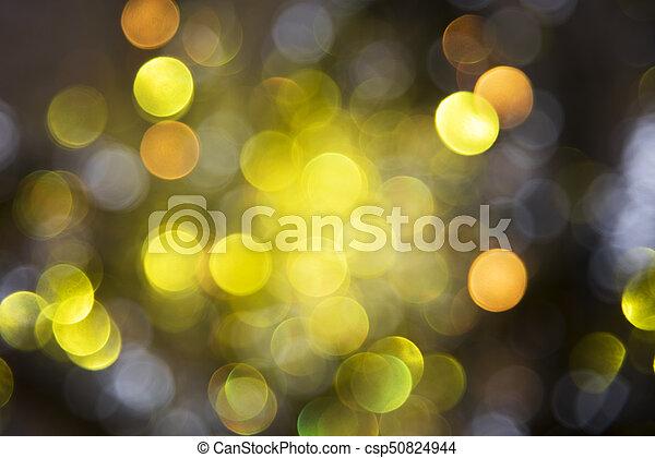 sparkling golden lights background party or christmas texture csp50824944 - Sparkling Christmas Lights
