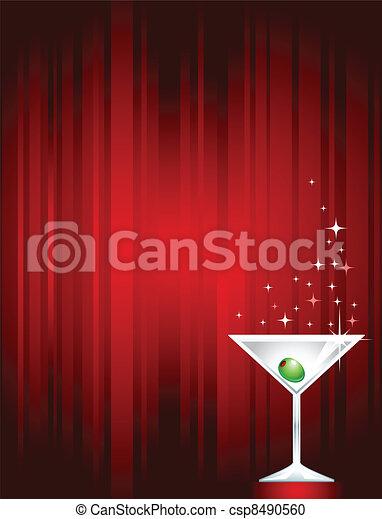 Sparkling Martini - csp8490560