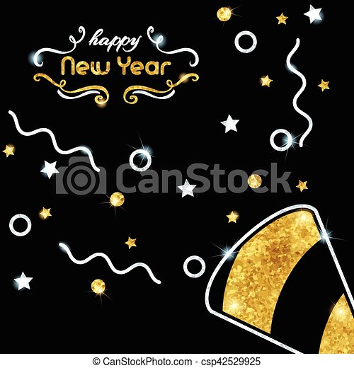 sparkling new years eve background csp42529925