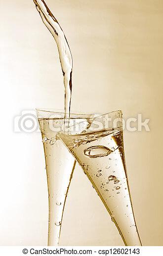 Sparkling Wine - csp12602143