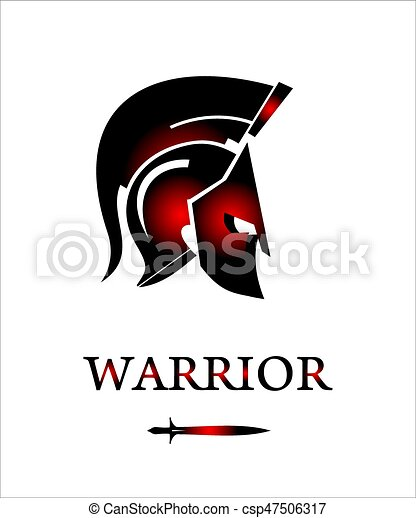sparta warrior head trojan helmet warrior profile blue trojan head logo trojan head mascot