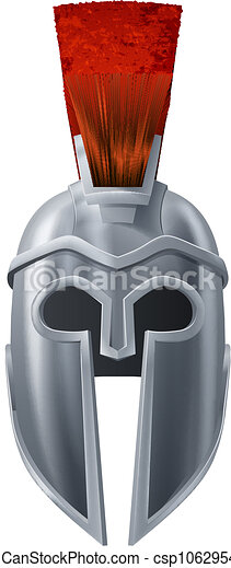 Spartan Helmet Illustration Illustration Of Corinthian Or Spartan