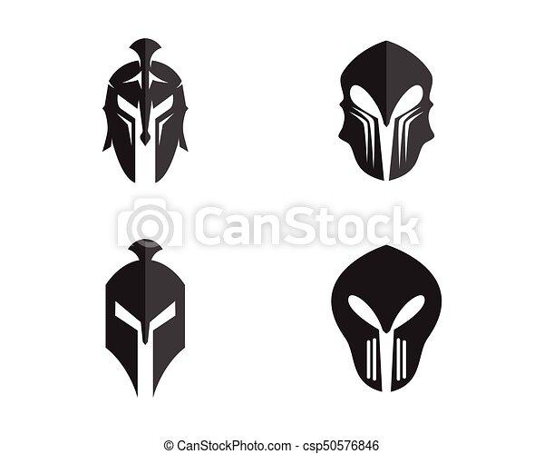 Spartan helmet logo template vector icon design eps vector spartan helmet logo template vector pronofoot35fo Choice Image