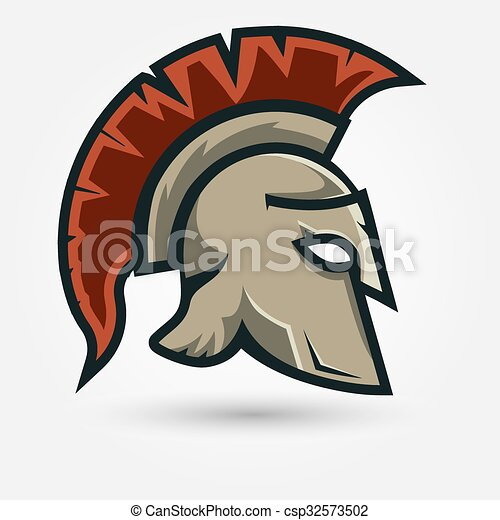 Spartan Warrior Helmet Spartan Helmet Silhouette Greek Warrior