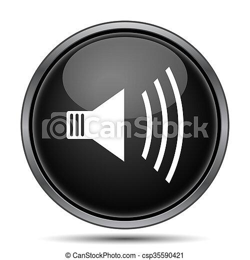 Speaker icon - csp35590421