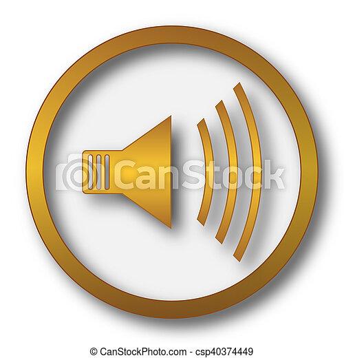 Speaker icon - csp40374449