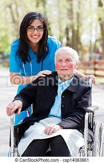 Special Care Facility for the Elderly - csp14063661