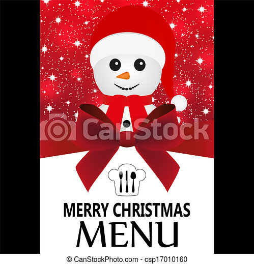 Special Christmas menu - csp17010160