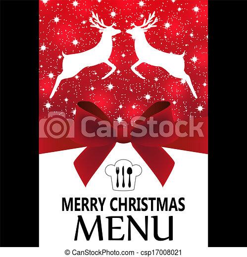 Special Christmas menu - csp17008021