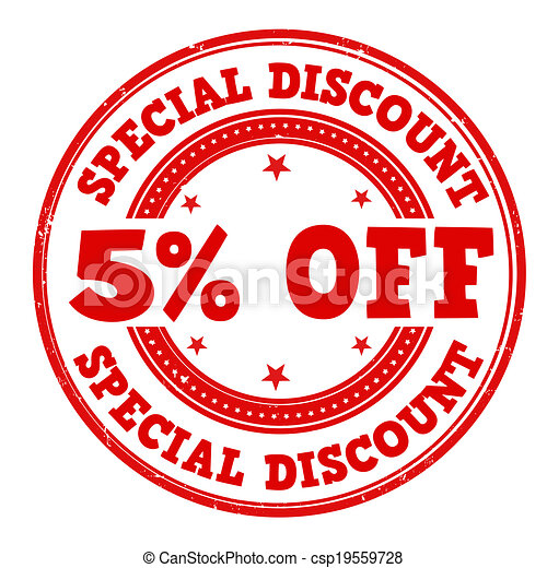 Special discount stamp - csp19559728