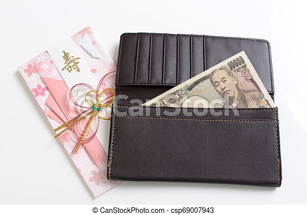 Special envelope for monetary gifts - csp69007943