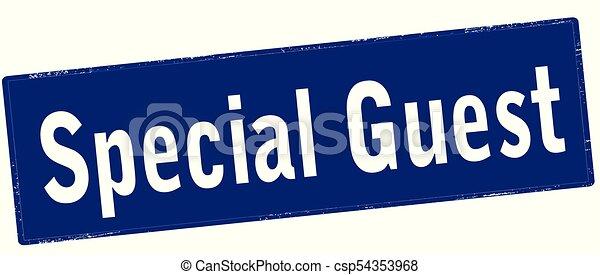 Special guest - csp54353968