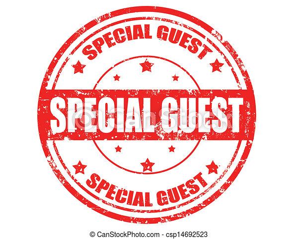 Special guest - csp14692523
