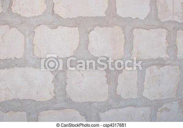 special limestone background of mission santa barbara - csp4317681