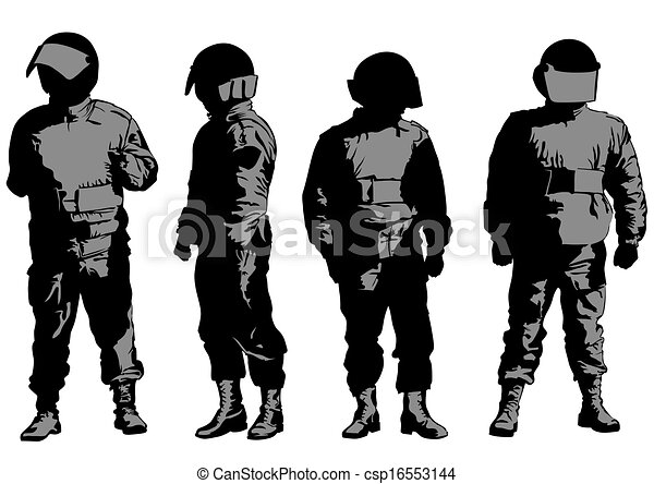 Special military force - csp16553144