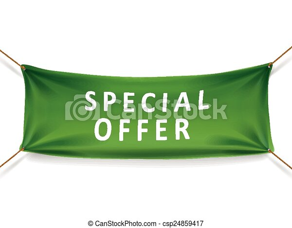 special offer banner - csp24859417