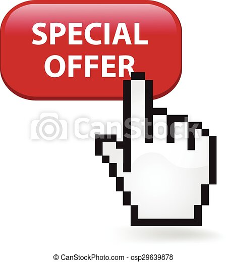 Special Offer Button - csp29639878
