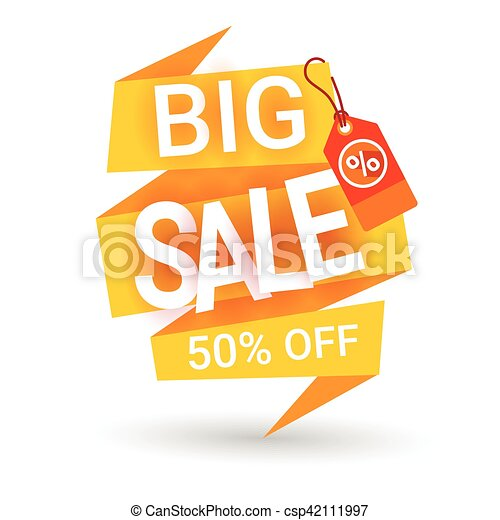 Special Offer Discount Big Sale Shopping Banner - csp42111997