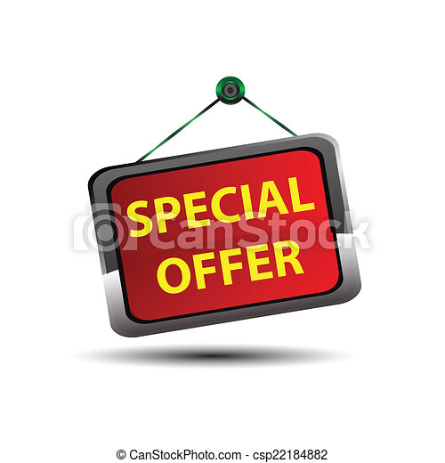 Special Offer icon button - csp22184882