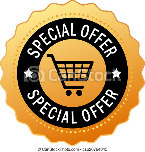 Special offer icon - csp20764045