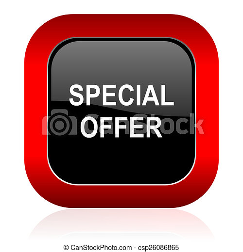 special offer icon - csp26086865