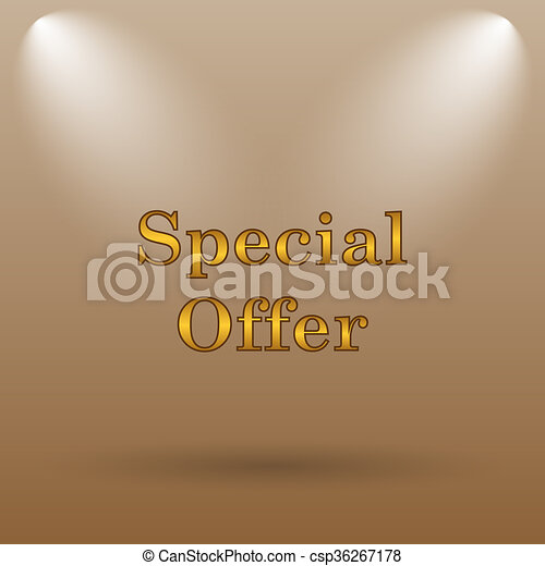 Special offer icon - csp36267178
