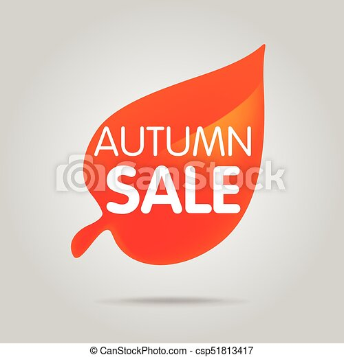 Special offer sale orange tag isolated vector illustration. - csp51813417