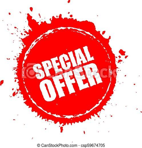 Special Offer Splash Icon Special Offer Blot Splash Icon