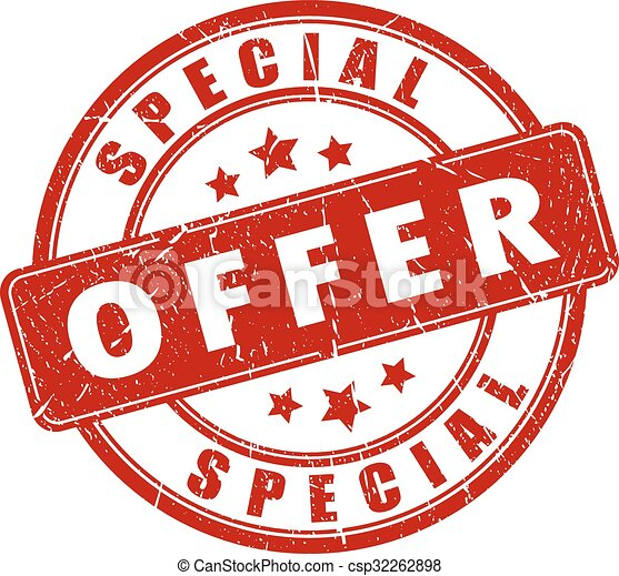 Special offer stamp - csp32262898