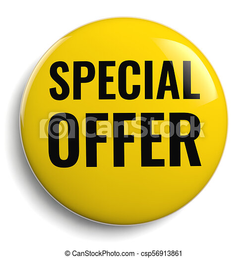 Special Offer Yellow Icon - csp56913861