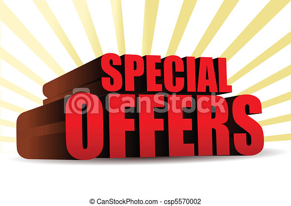 special offers - csp5570002