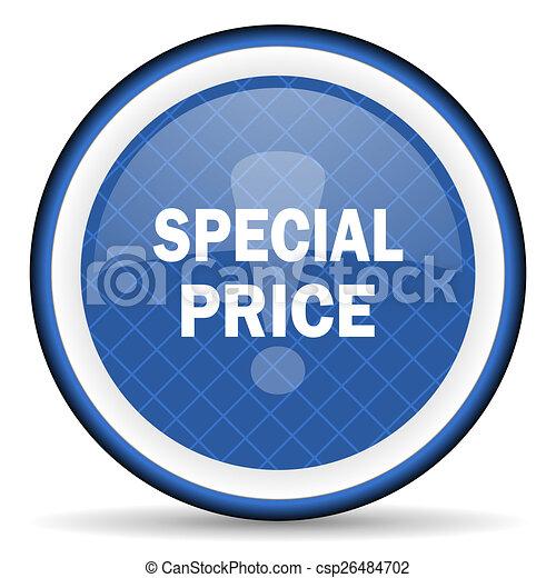 special price blue icon - csp26484702