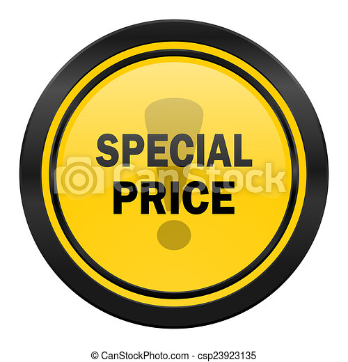 special price icon, yellow logo, - csp23923135