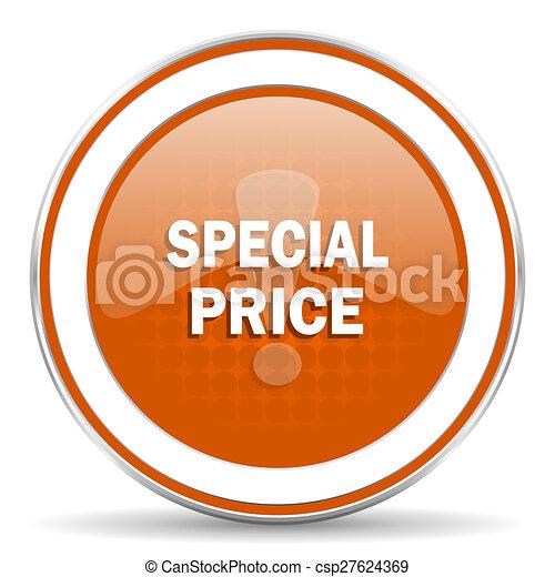 special price orange icon - csp27624369