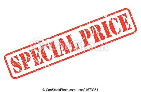 Special price red stamp text - csp24673361