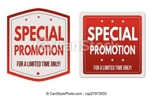 Promotion Stickers