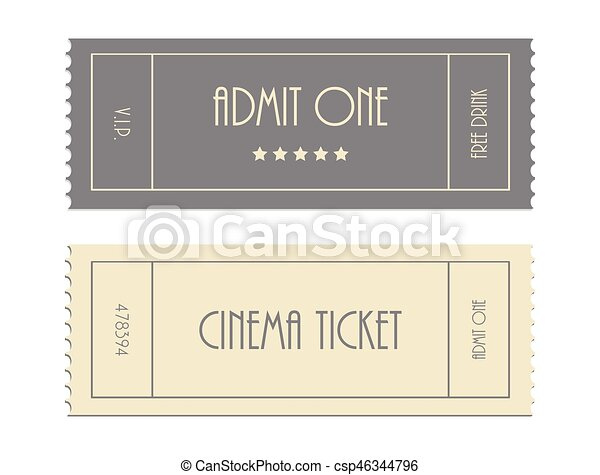 special vector ticket template admit one cinema ticket
