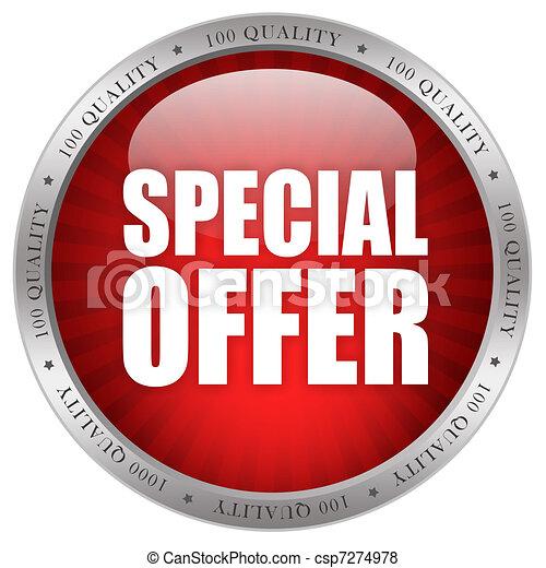 speciale, offerta - csp7274978
